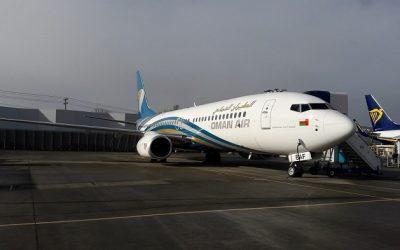 Oman Air welcomes Boeing 737-800 to fleet